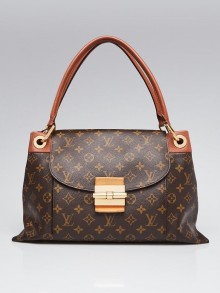 Louis Vuitton Camel Monogram Canvas Olympe Bag