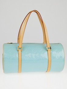 Louis Vuitton Baby Blue Monogram Vernis Bedford Bag