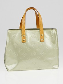 Louis Vuitton Silver Monogram Vernis Reade PM Bag
