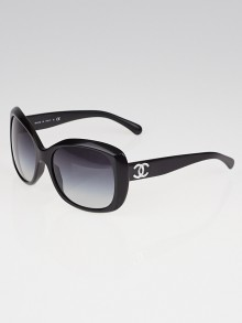 Chanel Black Frame CC Logo Sunglasses-5183