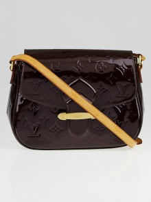 Louis Vuitton Amarante Monogram Vernis Bellflower GM Bag