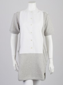 Stella McCartney Graphite Cotton Shirt Dress Size 8/42