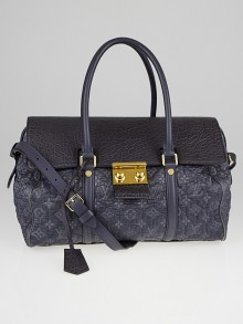 Louis Vuitton Limited Edition Gris Monogram Volupte Psyche Bag
