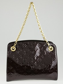Louis Vuitton Amarante Monogram Vernis Virginia MM Bag