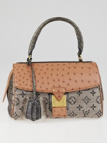 Louis Vuitton Limited Edition Rose Gold Monogram Comedie Carrousel Bag