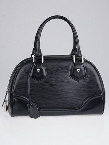 Louis Vuitton Black Epi Leather Montaigne PM Bag