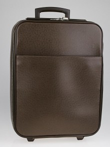 Louis Vuitton Grizzli Taiga Leather Pegase 50 Business Suitcase