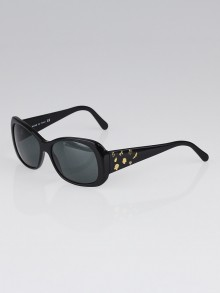 Chanel Black Frame and Charms Sunglasses - 5123