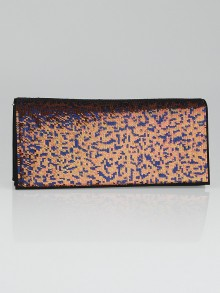 Christian Dior Bronze Sequin Evening Clutch Bag
