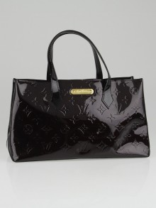 Louis Vuitton Amarante Monogram Vernis Wilshire PM Bag