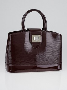 Louis Vuitton Prune Electric Epi Leather Mirabeau PM Bag
