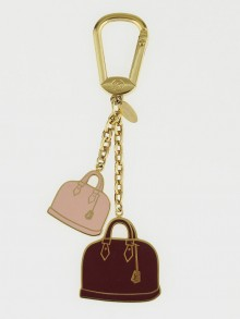 Louis Vuitton Alma Bags Key Holder and Bag Charm