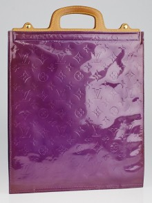 Louis Vuitton Purple Monogram Vernis Stanton Tote Bag