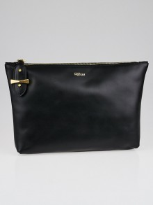 Alexander McQueen Black Legend Clutch Bag