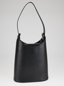 Louis Vuitton Black Epi Leather Verseau Bag
