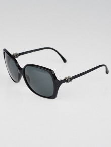Chanel Black Square Oversized Frame CC Sunglasses 5216
