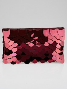 Prada Granato Paillettes Pochette Clutch Bag BP0445