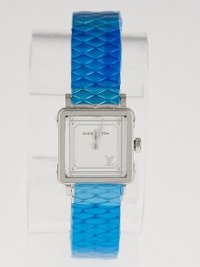 Louis Vuitton 23mm Stainless Steel Emprise Quartz Watch