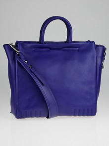 3.1 Phillip Lim Ultramarine Leather Ryder Square Tote Bag