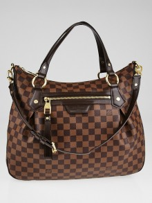 Louis Vuitton Damier Canvas Evora MM Bag