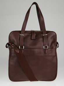 Hermes Havane Evergrain Leather Hebdo Bag