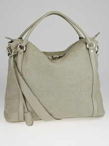 Louis Vuitton Gris Antheia Monogram Antheia Leather Ixia MM Bag