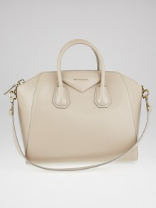 Givenchy Natural Box Leather Medium Antigona Bag