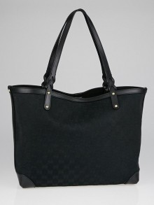 Gucci Black GG Canvas Craft Original Tote Bag