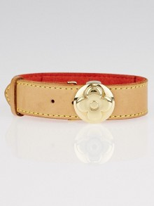 Louis Vuitton Leather Monogram Millennium Wish Bracelet