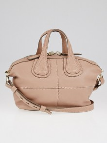 Givenchy Taupe Lambskin Leather Micro Nightingale Bag
