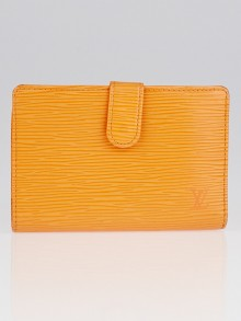Louis Vuitton Mandarin Epi Leather Porte Feuille Vienoise French Purse Wallet