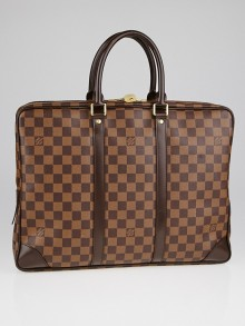 Louis Vuitton Damier Canvas Porte-Documents Voyage Bag