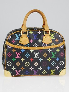 Black Monogram Multicolore Trouville Bag