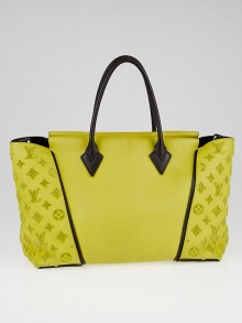 Louis Vuitton Pistache Veau Cachemire Calfskin Leather W PM Bag