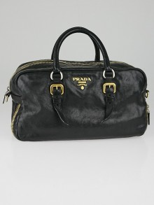 prada vitello shine studded satchel