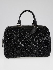 Louis Vuitton Limited Edition Black Monogram Sunshine Express Speedy Bag