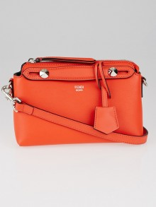 Fendi Papavero Calfskin Leather Mini By-the-Way Bag 8BL135