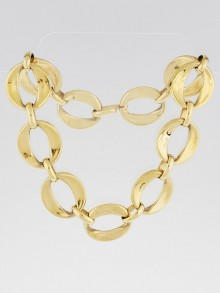 Chanel Vintage Goldtone Chunky Chain Necklace