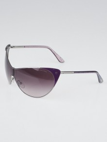 Tom Ford Purple Cat Eye Frame Gradient Tint Sunglasses