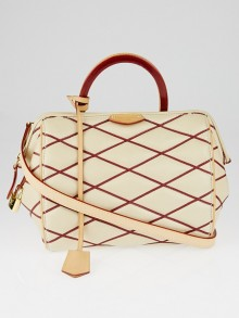 Louis Vuitton Naturel Lambskin Leather Malletage Doc BB Bag