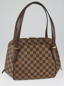 Louis Vuitton Damier Canvas Belem MM Bag