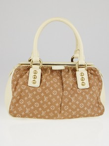 Louis Vuitton Camel Monogram Mini Lin Trapeze PM Bag