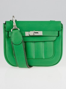 Hermes Bambou Swift Leather Berline 21 Bag