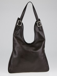 Hermes Ebene Evergrain Leather Massai PM Bag