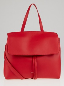 Mansur Gavriel Flamma Calf Leather Mini Lady Bag