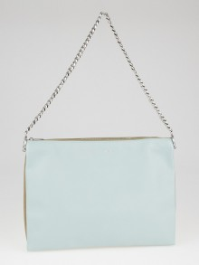 Celine Glacier Lambskin Leather Chain Trio Bag