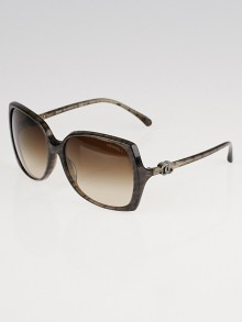 Chanel Brown Square Oversized Frame CC Sunglasses- 5216