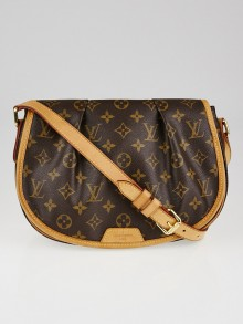 Louis Vuitton Monogram Canvas Menilmontant PM Bag