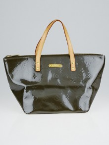Louis Vuitton Vert Bronze Monogram Vernis Bellevue PM Bag