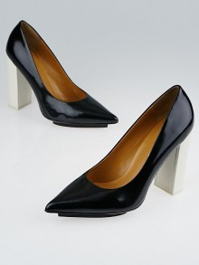 3.1 Phillip Lim Black Leather Miho Pumps Size 9/39.5